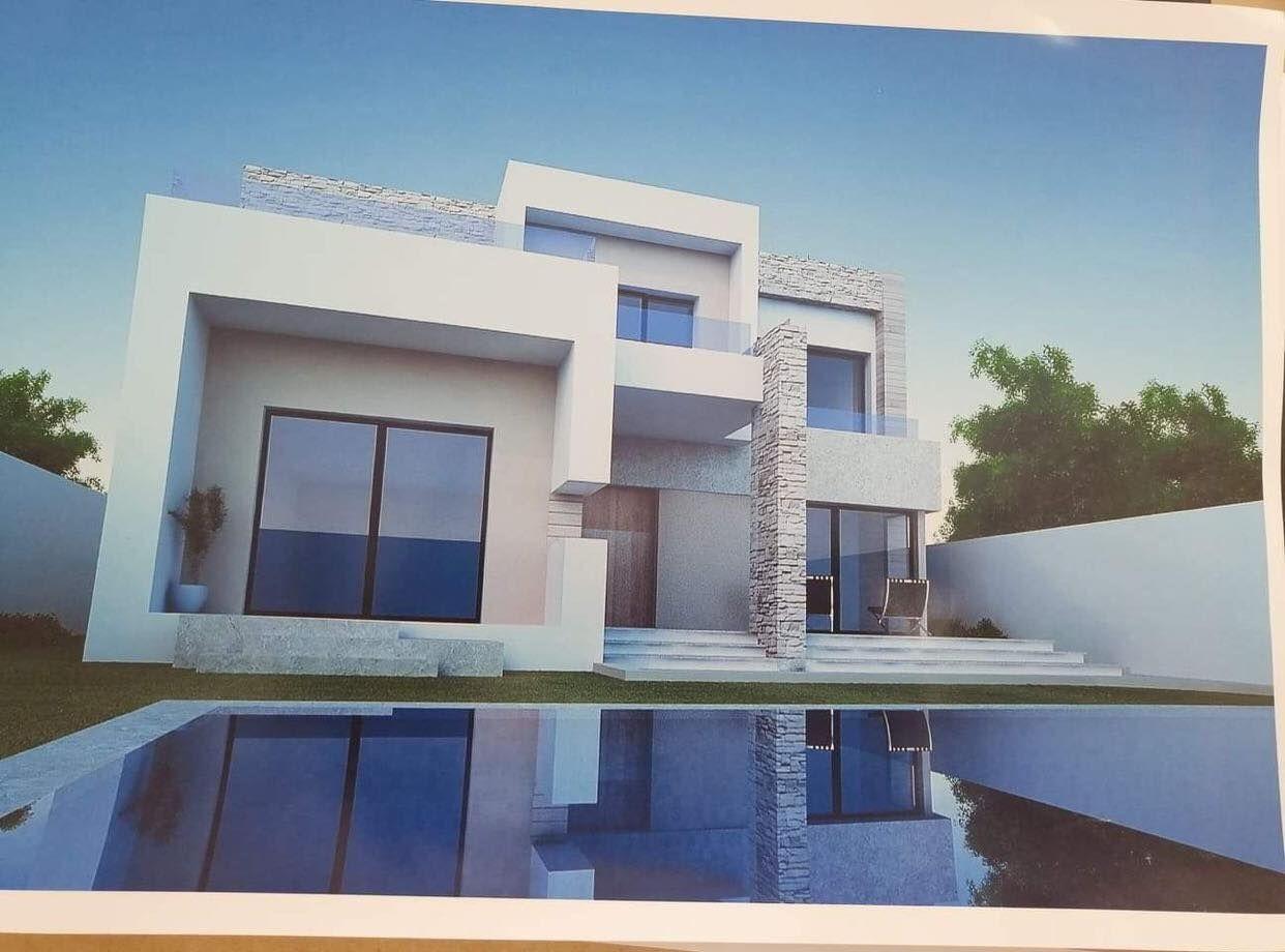 Une belle villa en 3d haute standing a vendre à hamammet nord bs