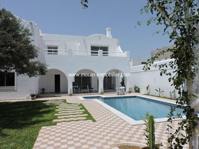Villa isis al à hammamet zone ribat