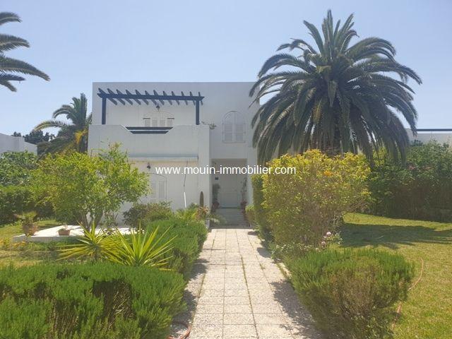 Villa donia ici hammamet nord a