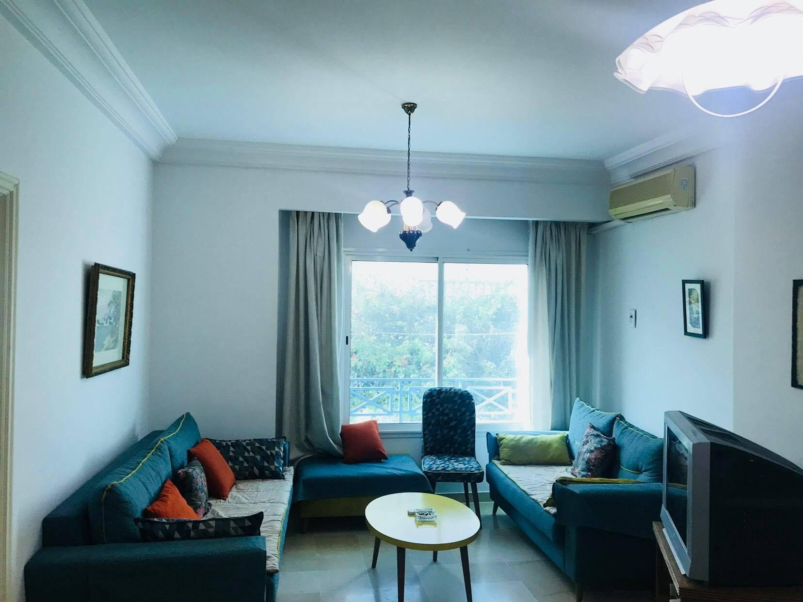 Un appartement av dans la zone tourstique à hammamet nord b