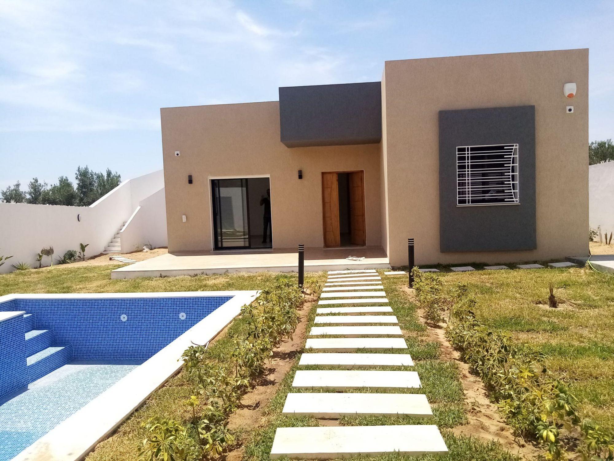 Une belle villa au plein pied à la compagne d'hammamet nord b