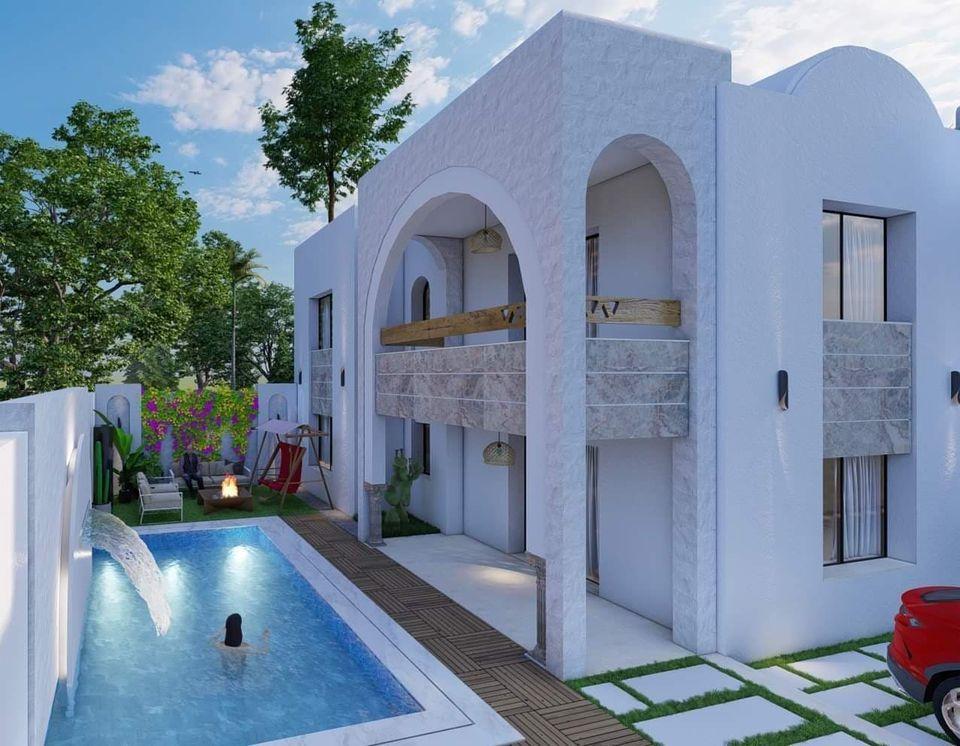 Av une nouvelle coquette villa à hammamet sud b