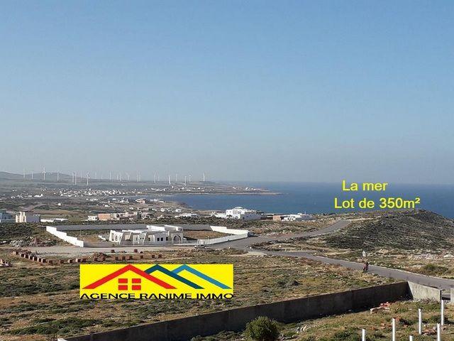 Lot de terrain 350 orienté de la mer el haouaria