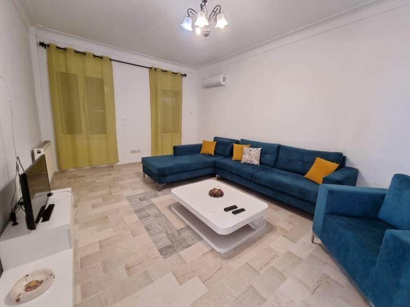 Appartement saloua 1réf: location estivale hammamet