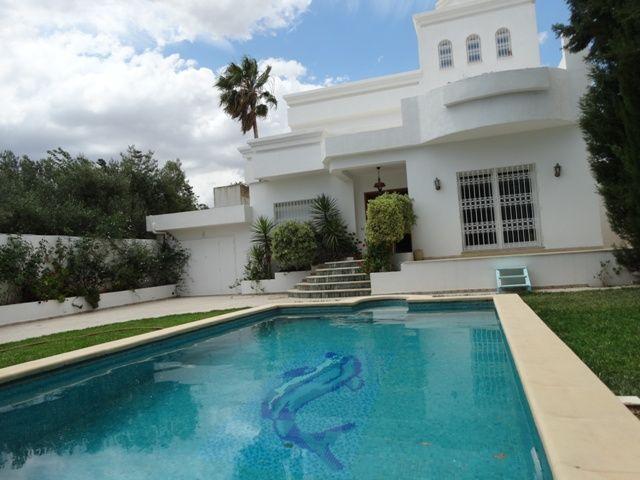 Villa la rose bleue réference: hammamet