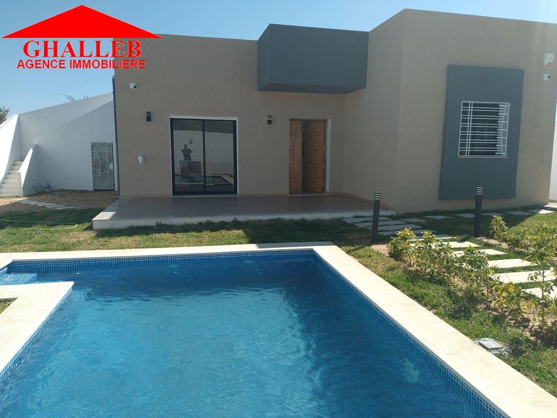 Av villa avec piscine a hammamet nord