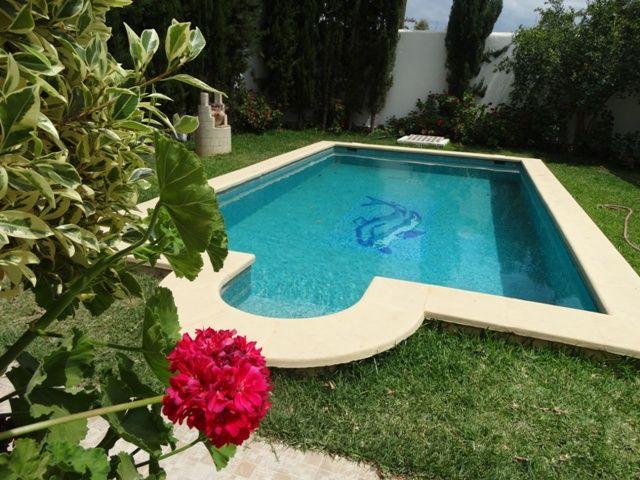 Villa la rose bleueréf:  location estivale hammamet
