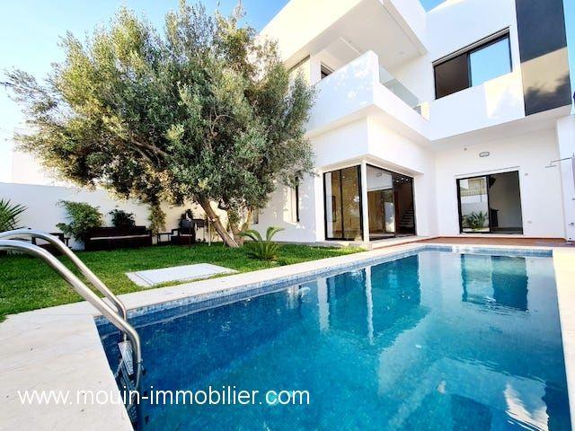 Villa olivia av à hammamet zone ribat