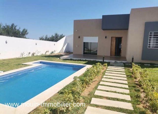 Villa josiane av à hammamet zone faouara