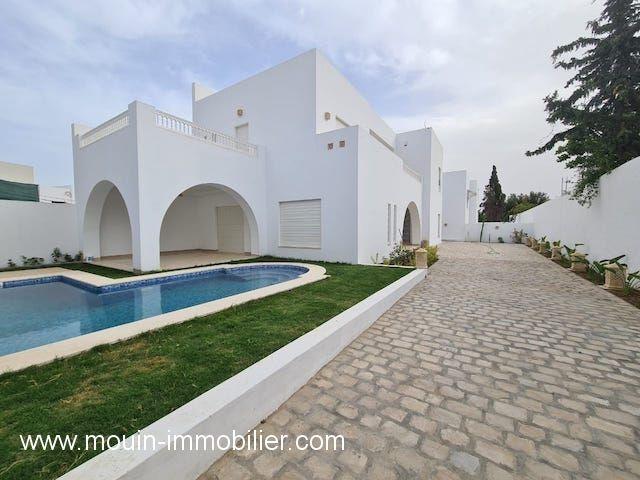 Villa l'etoile vi al à hammamet zone sindbed