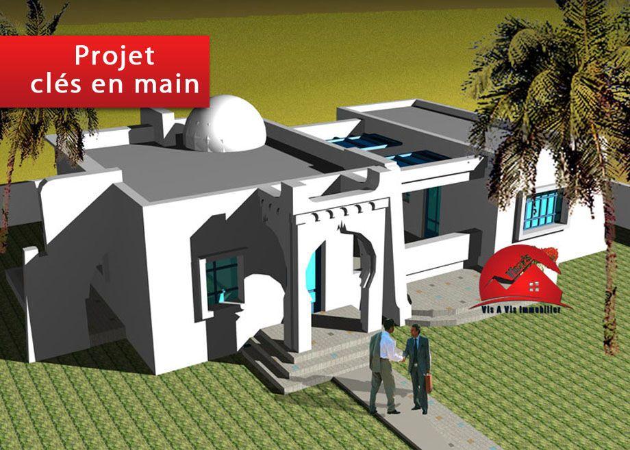 A vendre un projet d une maison clÉ en main a houmt souk djerba