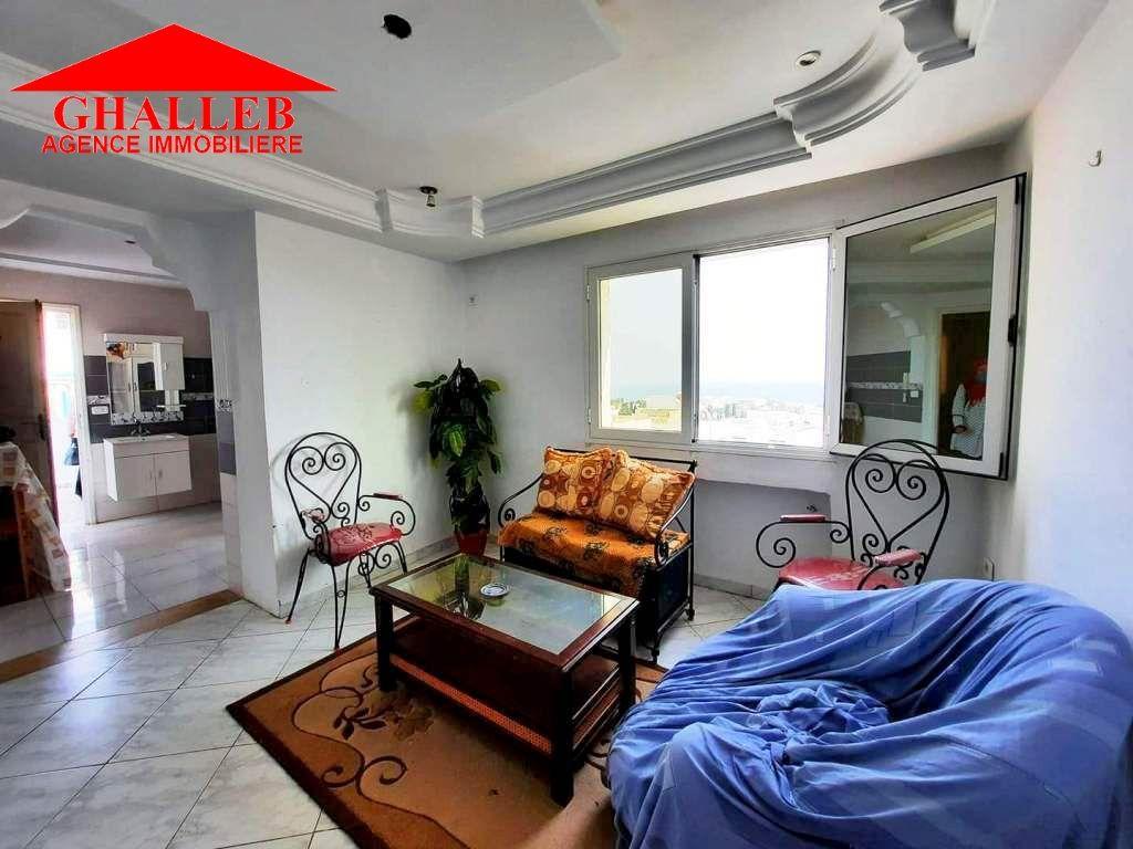 Av un bel appartement vue mer à hammamet marwa