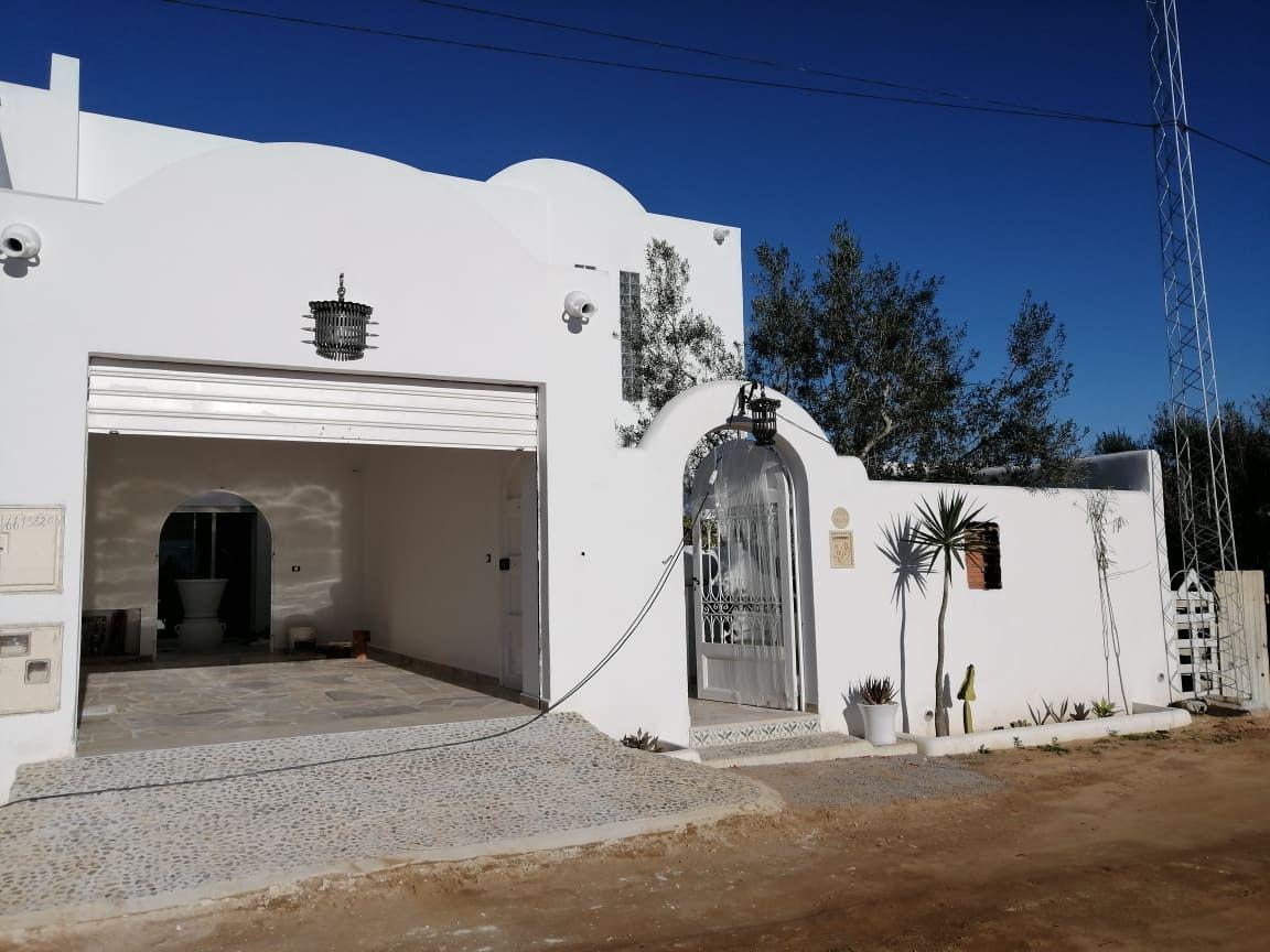 Av une belle villa à hammamet nord na