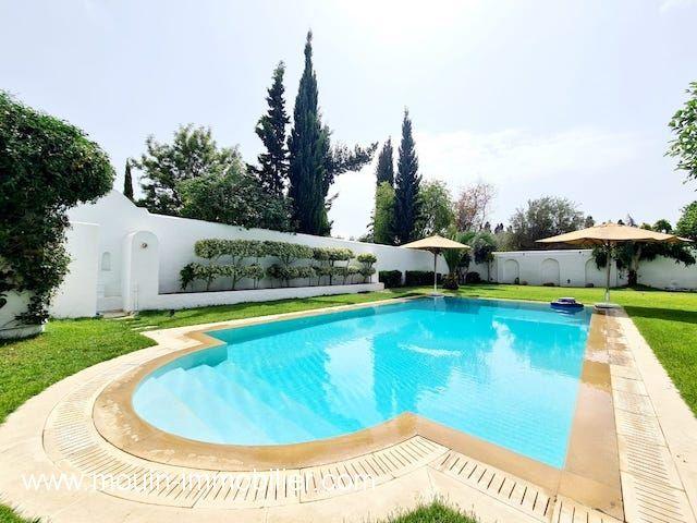 Villa juliette al à hammamet zone sindbed