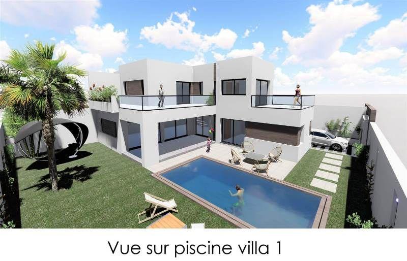 Villa afef référence hammamet vente villa