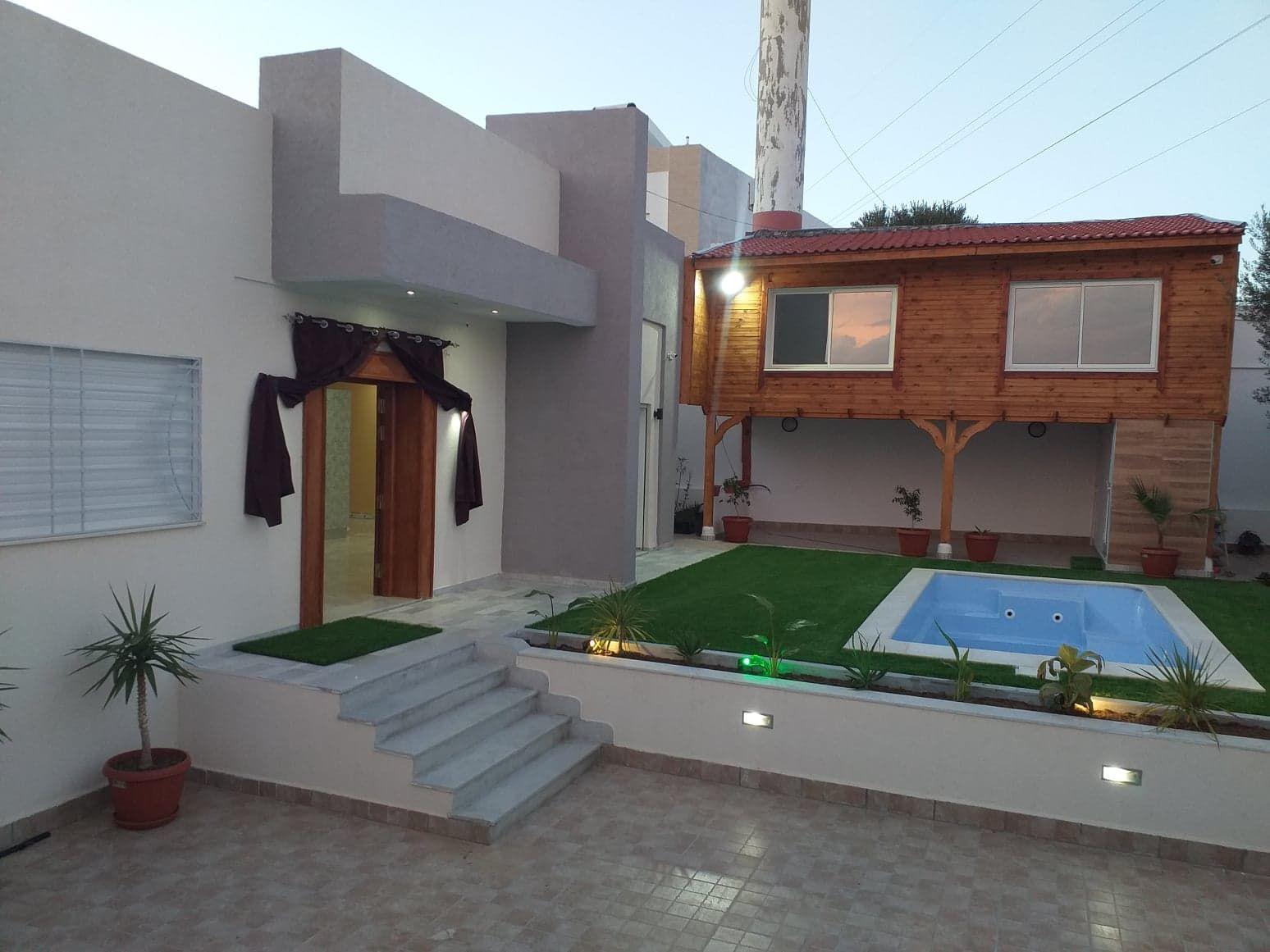 Villa à hammamet nord zone craxi