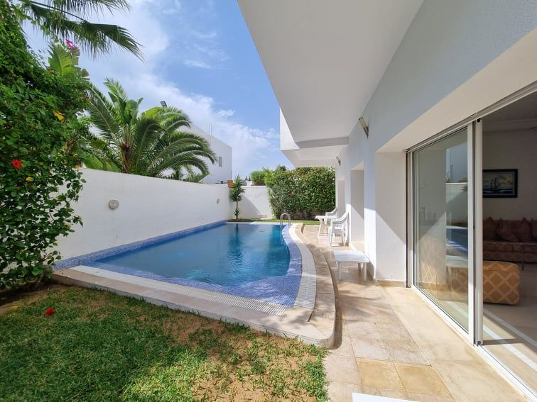 Villa emna réf: vente villa avec piscine