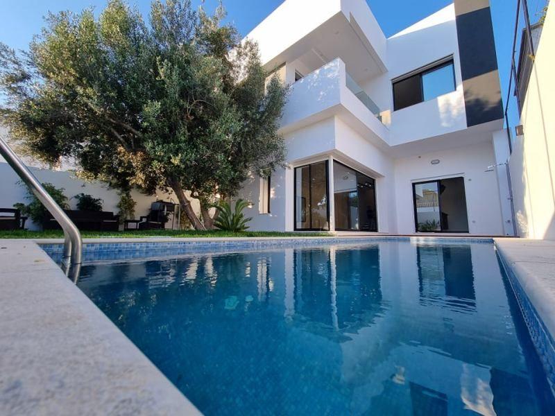 Villa mira réf:  villa avec piscine hammamet