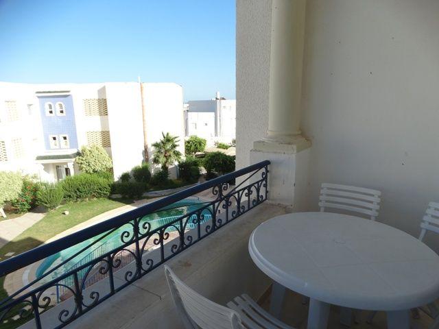 Appartement el baraka dans une résidence avec piscine