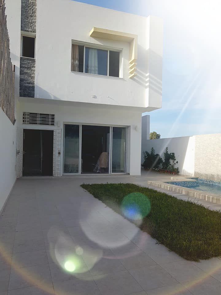 Av une superbe villa à hammamet nord marwa