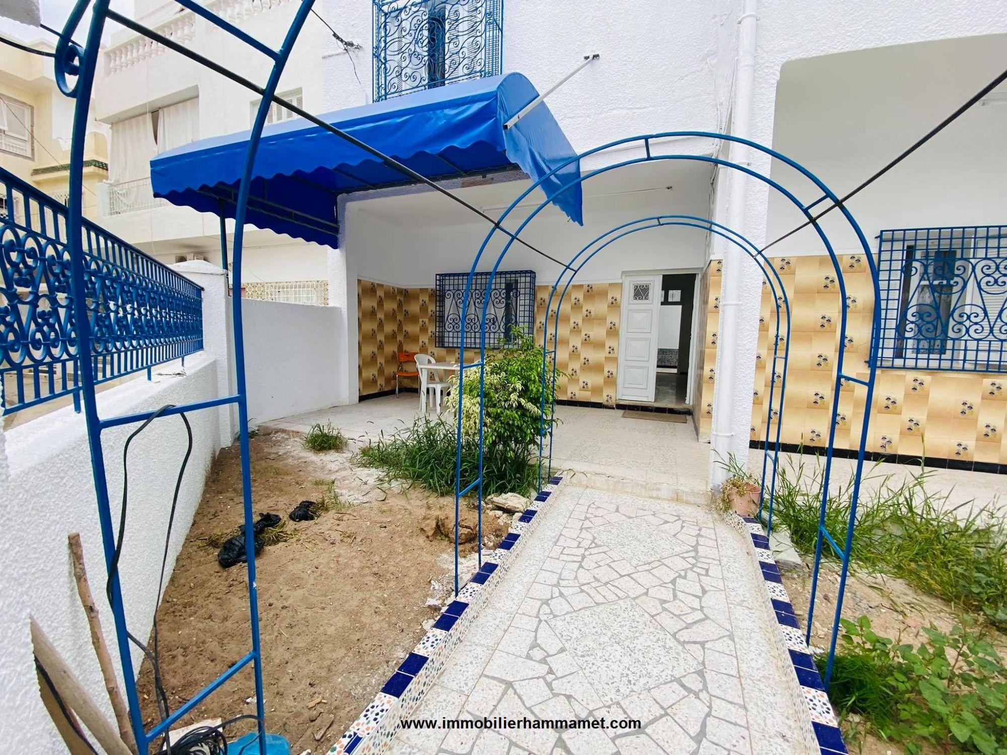 Location maison yosra à hammamet