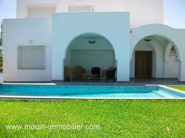 Villa alya hammamet  zone craxi a