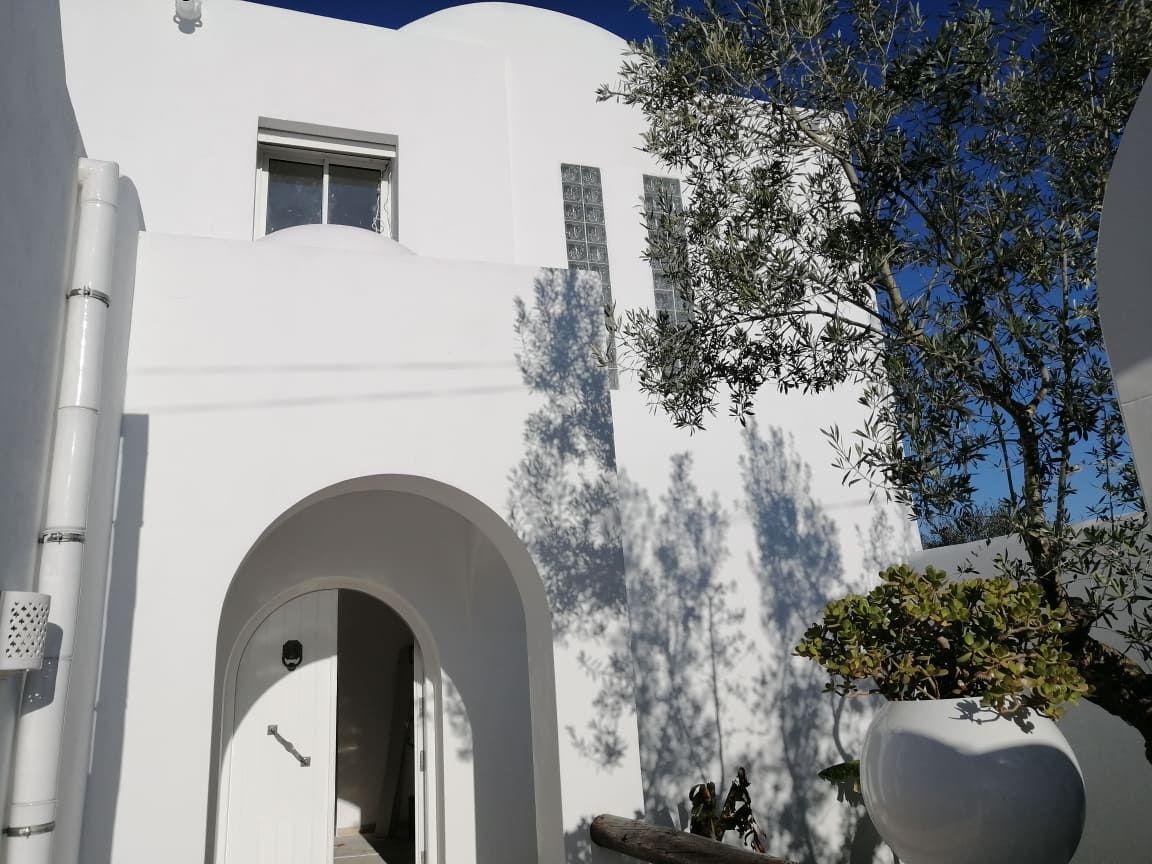 Av une très belle villa style arabesque à hammamet m