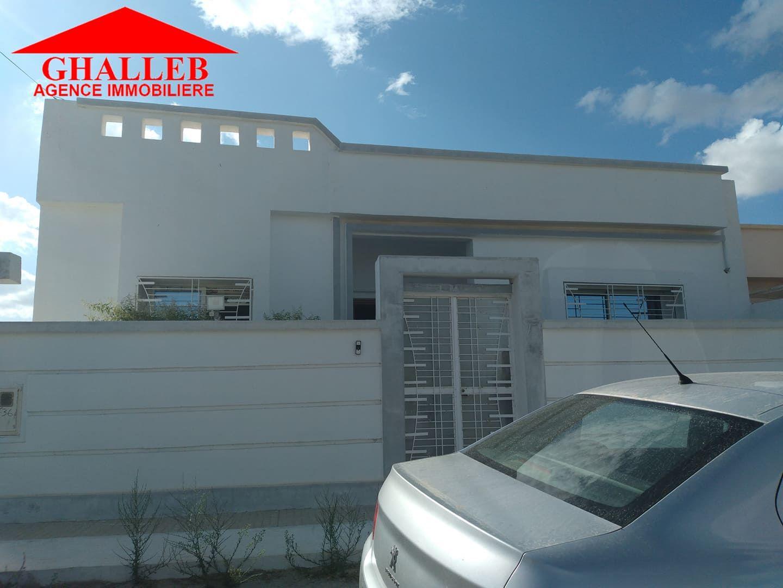 Une bella maison s+3 à vendre à hammamet sud