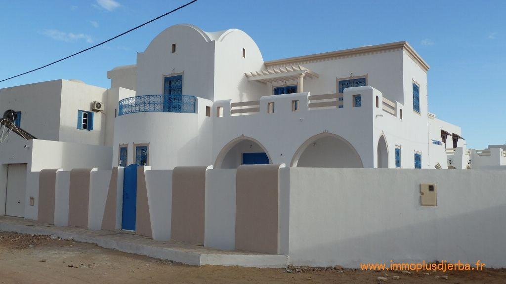 Djerba midoun vente villa neuve zone urbaine