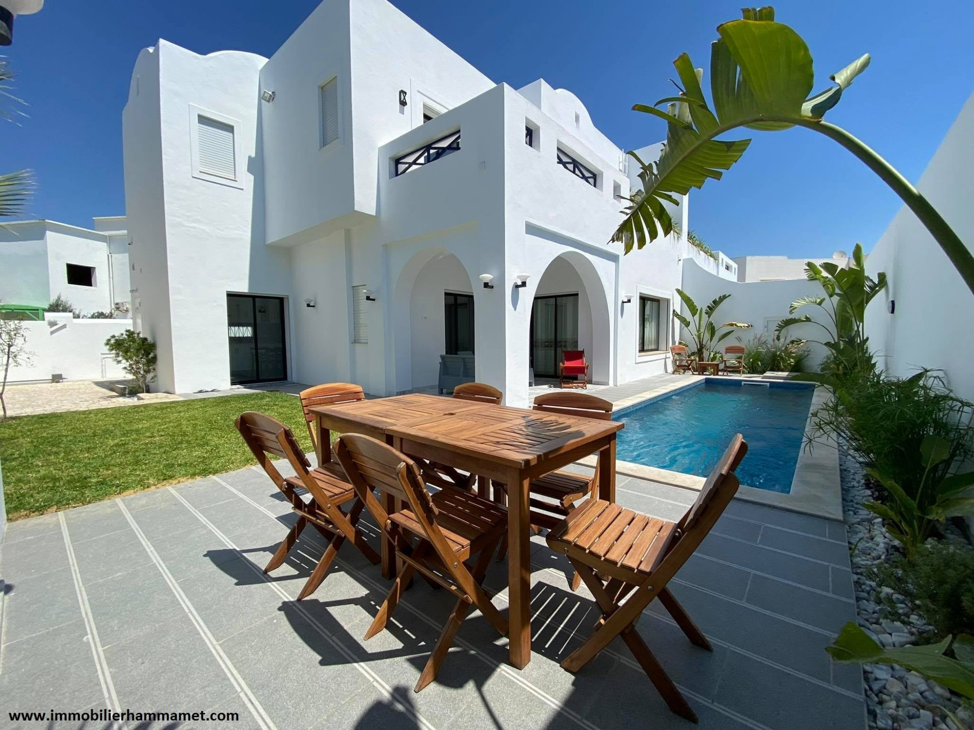 Location villa dar el bakht à yasmine hammamet