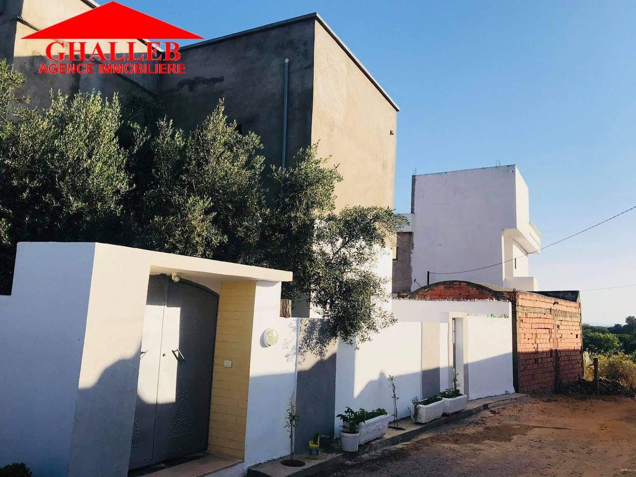 Une maison de tranquillité à vendre à la compagne de hammamet b