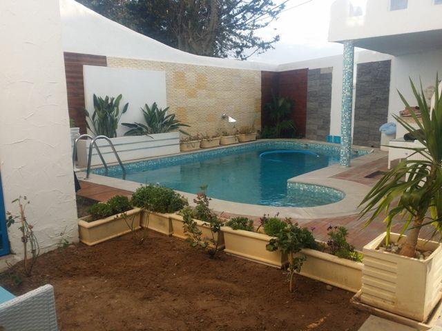 Villa kalthoumréf: villa avec piscine