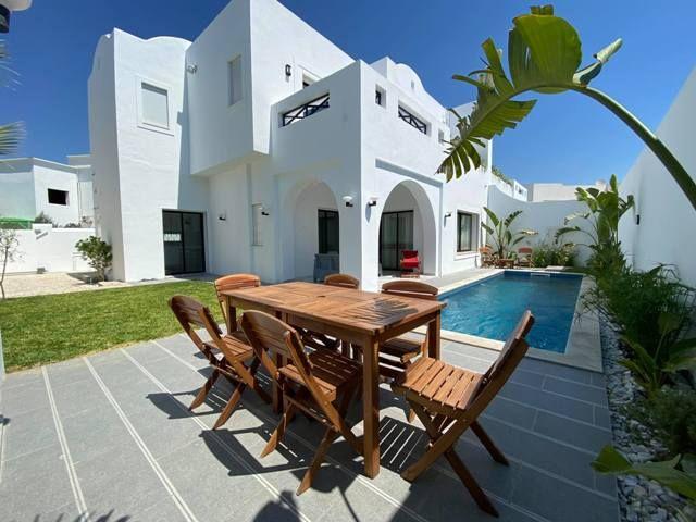 Villa rosario réference villa avec piscine hammamet