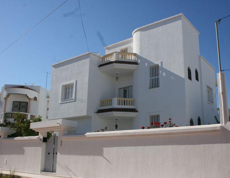 Villa a vendre mahdia vente villa mahdia hiboun for Villa avec jardin tunisie