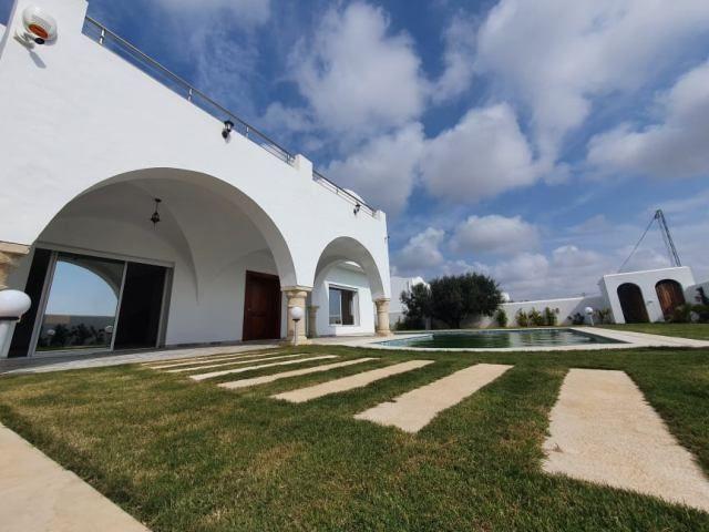 Villa citron réf:  vente villa avec piscine à hammamet