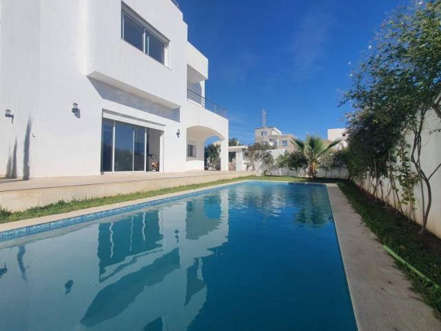 Villa zigzag vente villa avec piscine hammamet