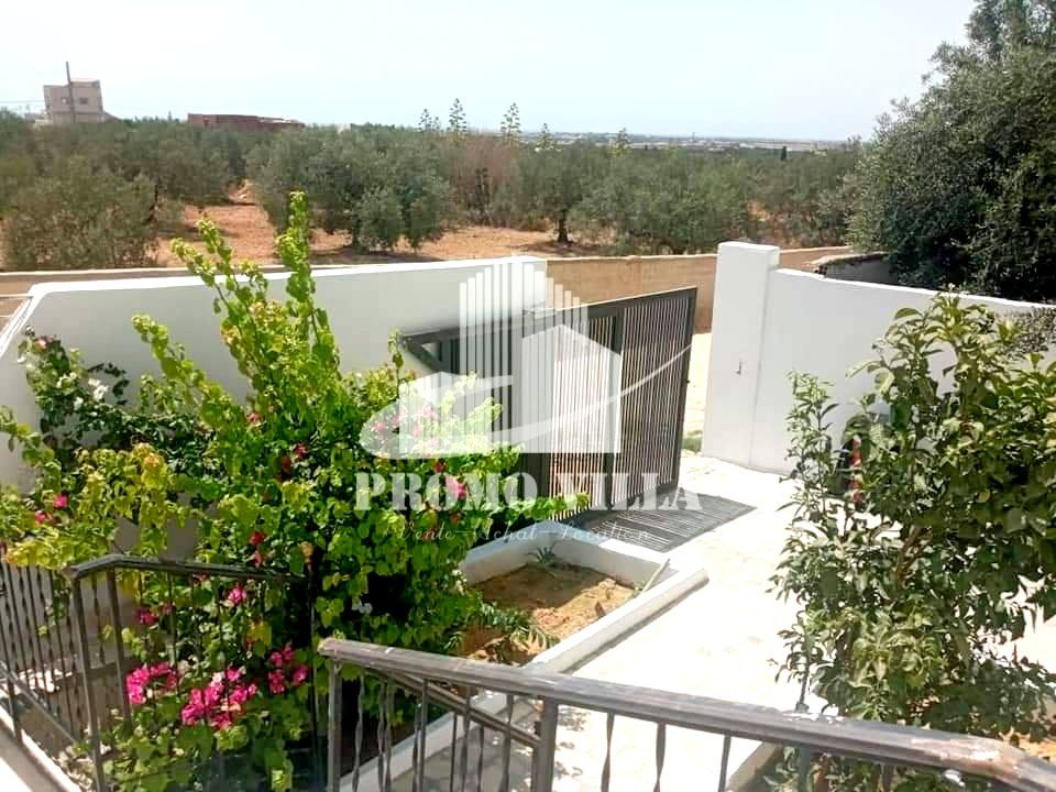 Av maison avec jardin proche de hammamet sud