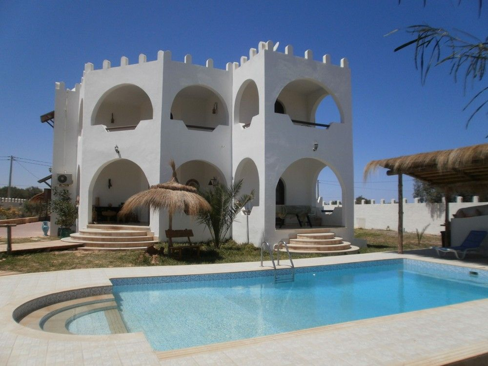 Maison vendre djerba tunisie villa yasmina vente for Achat maison zarzis