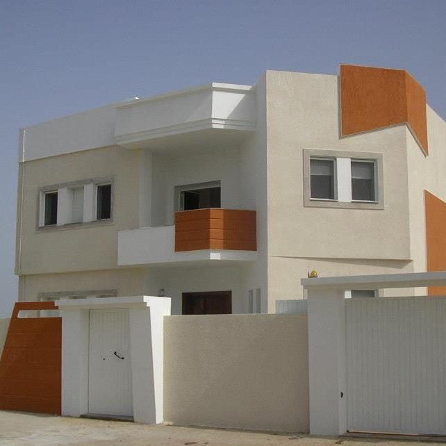 Villa neuf a borj cedria plage vente maison borj cedria for Decoration exterieur villa en tunisie