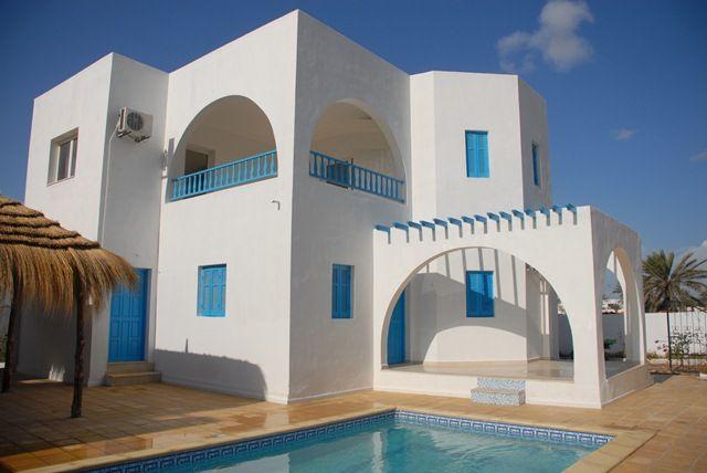 Vente villa avec picsine pas cher djerba tunisie foula vente maison midoun - Petite maison a vendre pas cher occasion ...
