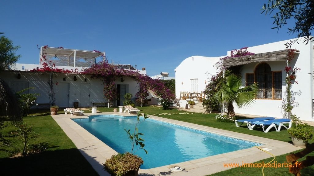 A vendre jolie villa de charme à djerba tunisie