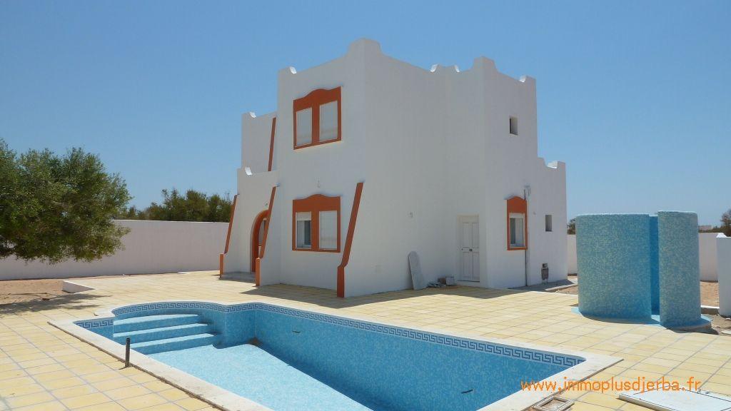 Immobilier neuf djerba vente villa avec piscine