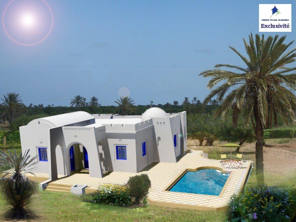 Maison neuve à vendre à djerba tunisie