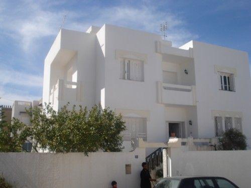 Villa vendre boumhel tunis vente maison for Plan architecture villa tunisie