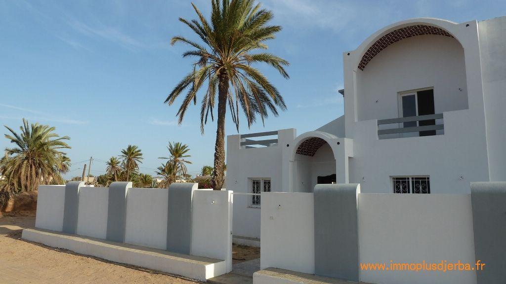 Villa neuve a vendre a djerba midoun zone urbaine