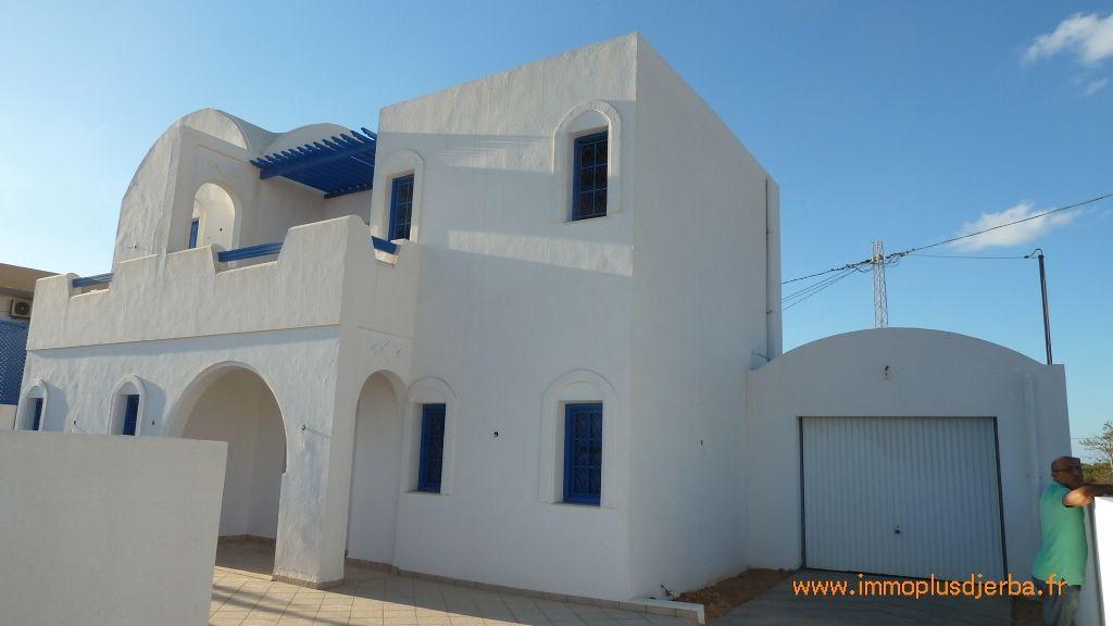 Achat jolie villa neuve avec piscine zone urbaine djerba midoun