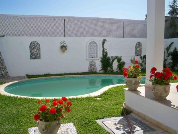 villa th tre location maison hammamet immobilier en On piscine demontable tunisie