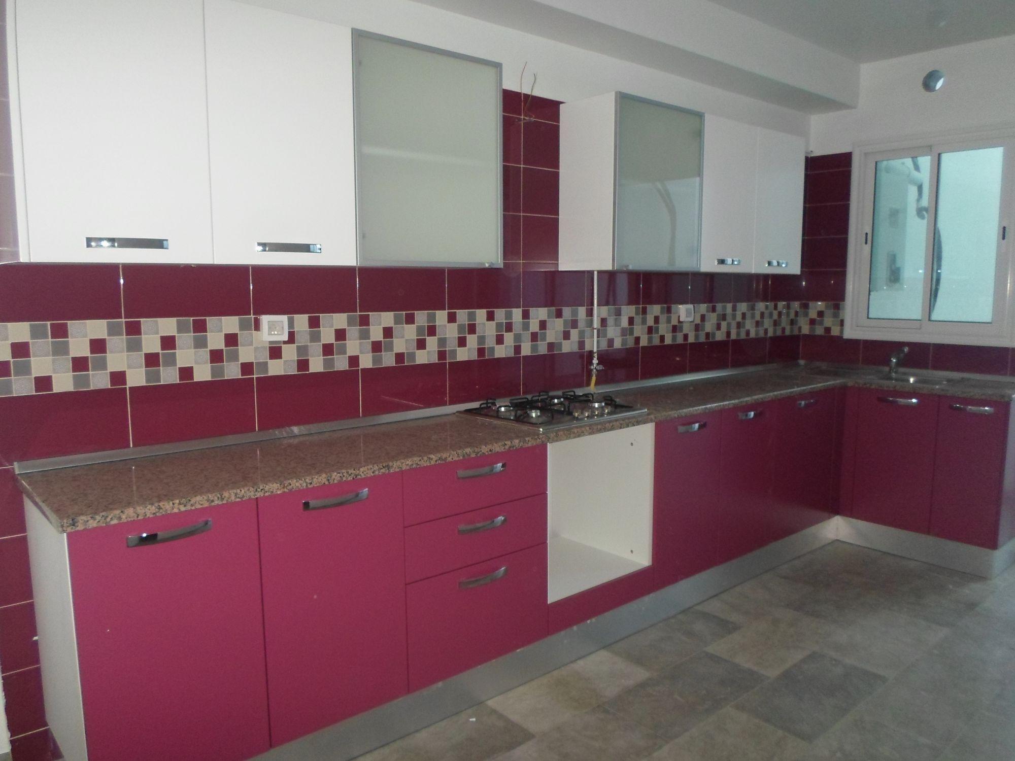 Free al appartement non meubl et neuf barreket sehel for Cuisine moderne tunisie