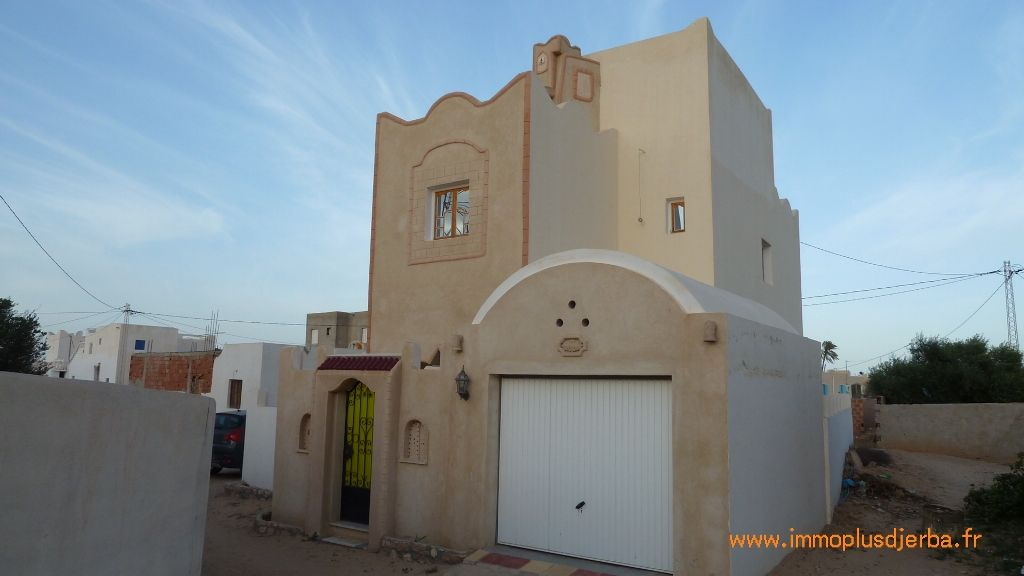 Jolie maison meublée à vendre à djerba tunisie