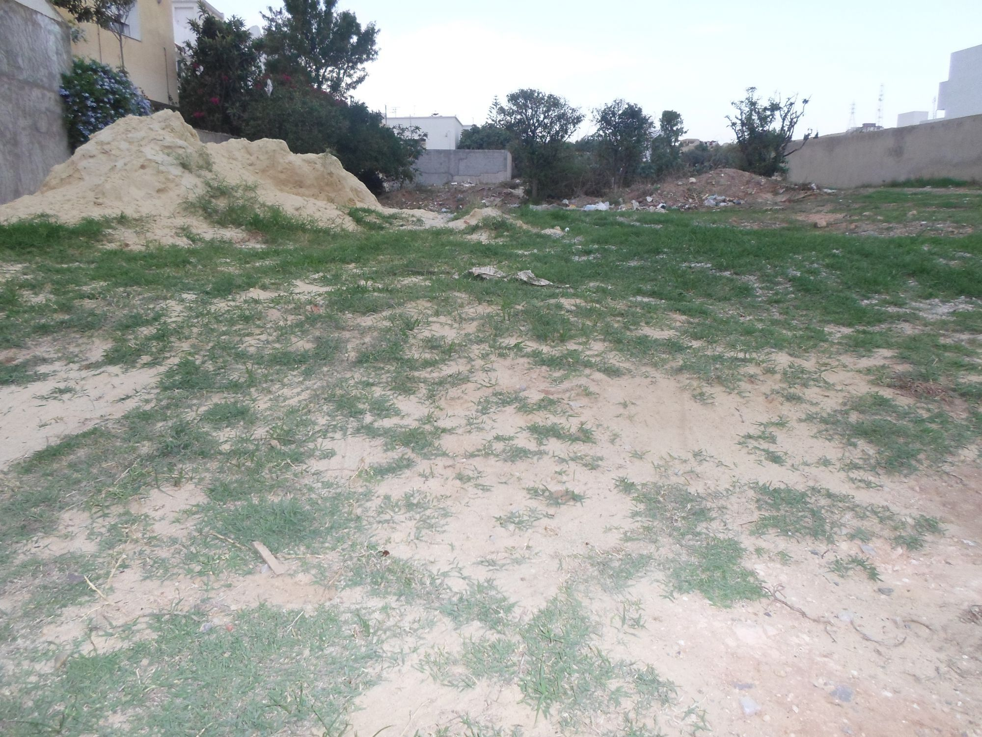 Av un terrain avec un emplacement idéal à hammamet